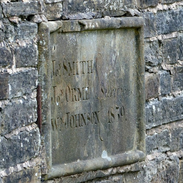Sutton Lane Ends Bridge – dedication stone