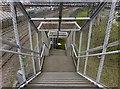 SE6527 : Public footbridge in Drax Power Station by Graham Hogg