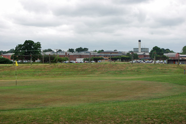 View towards East Surrey Hospital