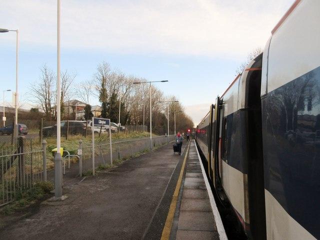 Platform 1, Gillingham railway station