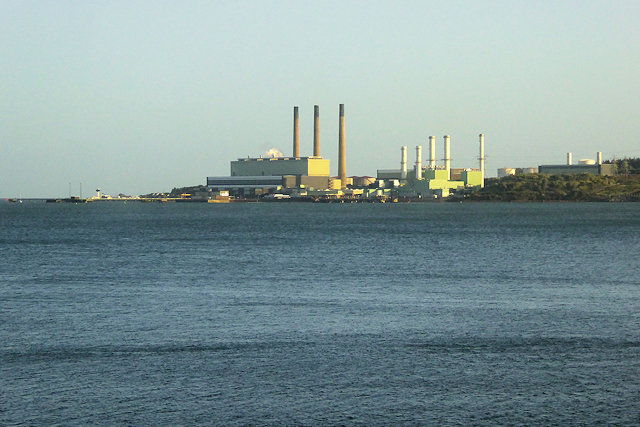Larne Lough and Ballymumford Power Station