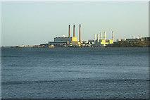 D4201 : Larne Lough and Ballymumford Power Station by David Dixon