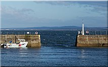 NH7055 : Avoch Harbour Entrance by valenta