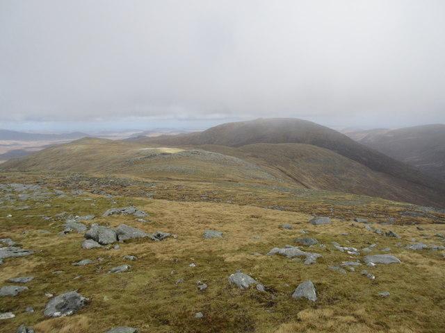 North ridge of Teileasbhal