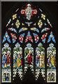SP8699 : East Window,  Ss Peter & Paul church, Uppingham by Julian P Guffogg