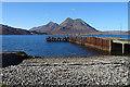 NG5534 : Old Pier at Suisnish : Week 18