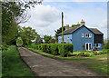 TL5677 : Lay Clerk's Farm and Nornea Lane by John Sutton