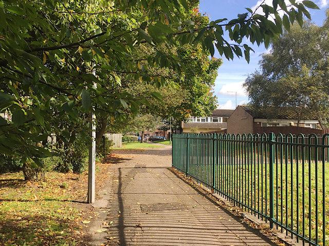 Brook Farm Walk, Chelmsley Wood, east Birmingham