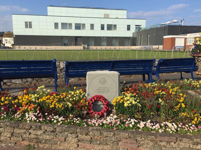 A new Great War memorial on The Den, Teignmouth