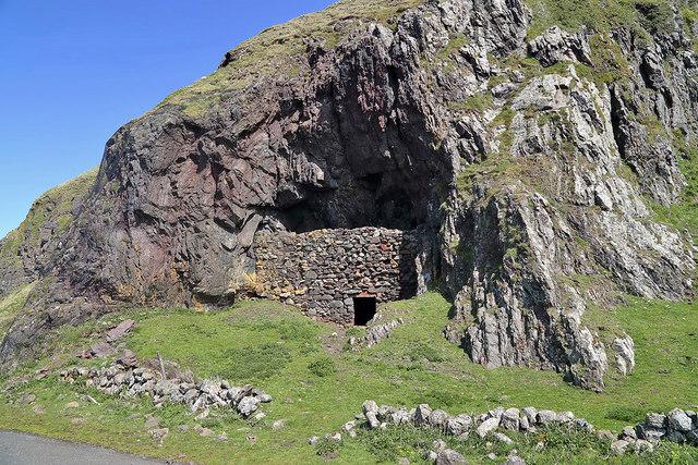 Snib Torbet's Cave at Bennane Lea