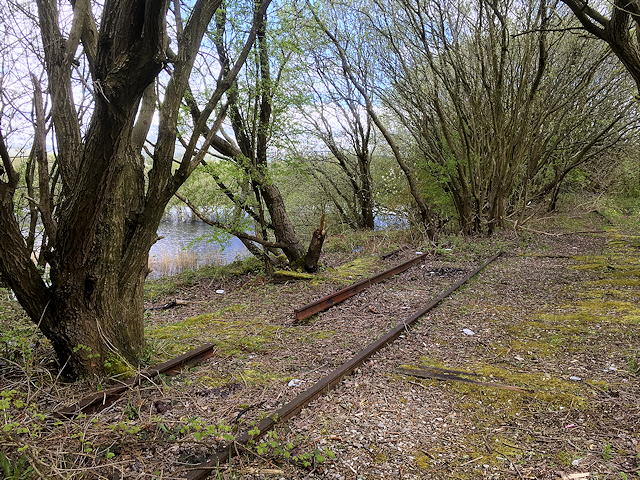 Route of Former Railway at Radcliffe North Junction