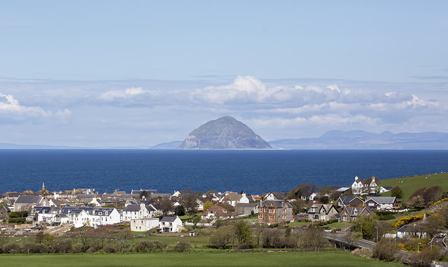 Ballantrae from the A77