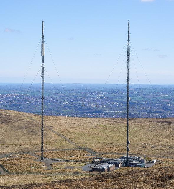 Divis Transmitting Station