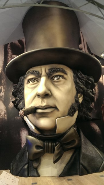 Facsimile of Isambard Kingdom Brunel, Brunel Institute, Bristol
