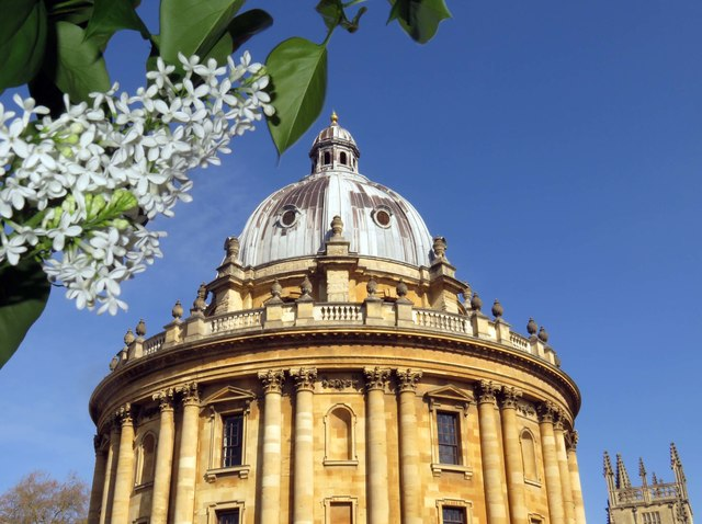 The Radcliffe Camera in Oxford