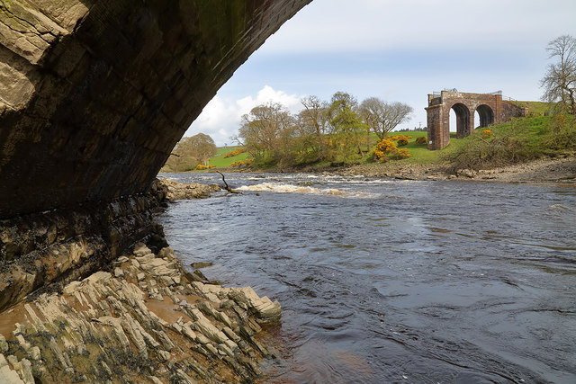 The River Dee at Tongland Bridge