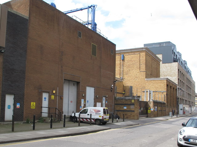 City Road 400kV substation, Wharf Road, Islington