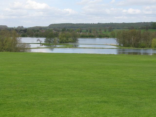 Lakes north of Castle Howard