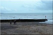 SX9676 : Breakwater, Dawlish by N Chadwick