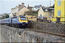 SX9677 : HST on Seawall by N Chadwick