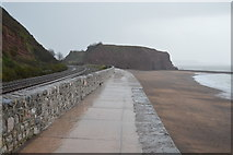 SX9777 : South West Coast Path to Langstone Rock by N Chadwick