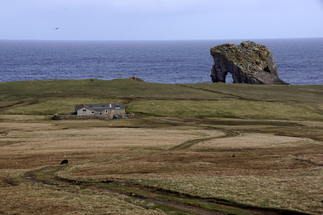Ristie and Gaada Stack, Foula