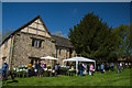 SK4212 : Plant fair at Donington le Heath Manor by Oliver Mills