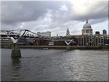 TQ3280 : Millennium Bridge across the River Thames by Rudi Winter