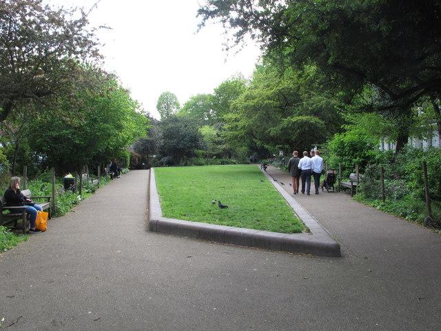 Duncan Terrace Garden, Islington