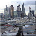 TQ3281 : Roofscape of the City of London by Rudi Winter