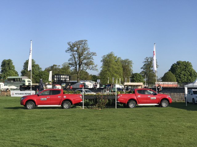L200s on Badminton cross-country course