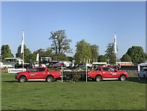 ST8083 : L200s on Badminton cross-country course by Jonathan Hutchins