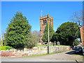 SJ4966 : St Andrew's Church, Tarvin by Jeff Buck
