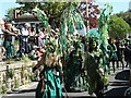 TQ8209 : Jack in the Green parade, High Street by Oast House Archive