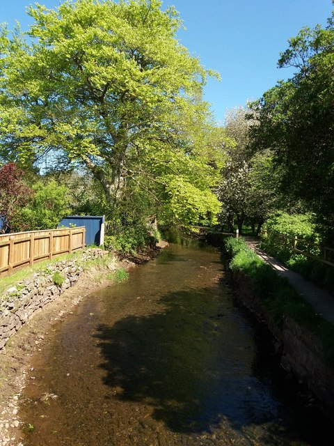 Cullompton: the town leat