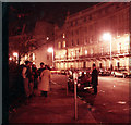 TQ2879 : Small group of protesters at Argentinian Embassy, Apr. 2, 1982 by David Douglas