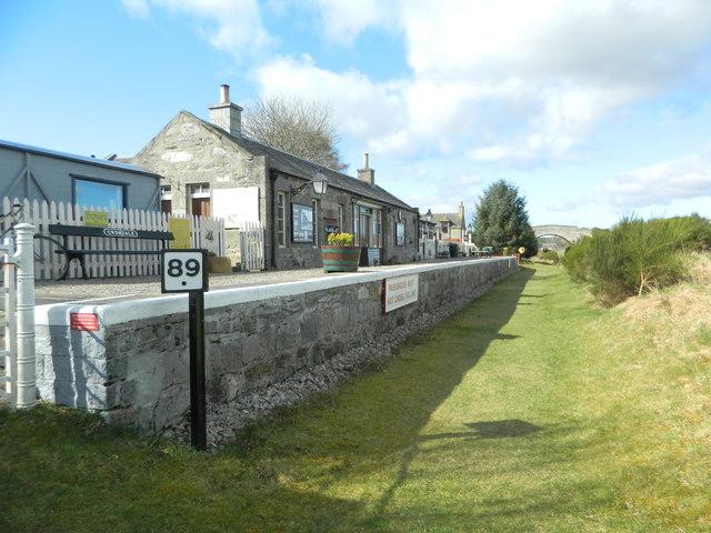 Cromdale Station (disused) on the Speyside Way