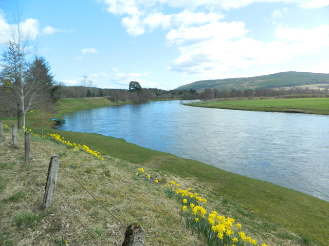 The River Spey near Cromdale