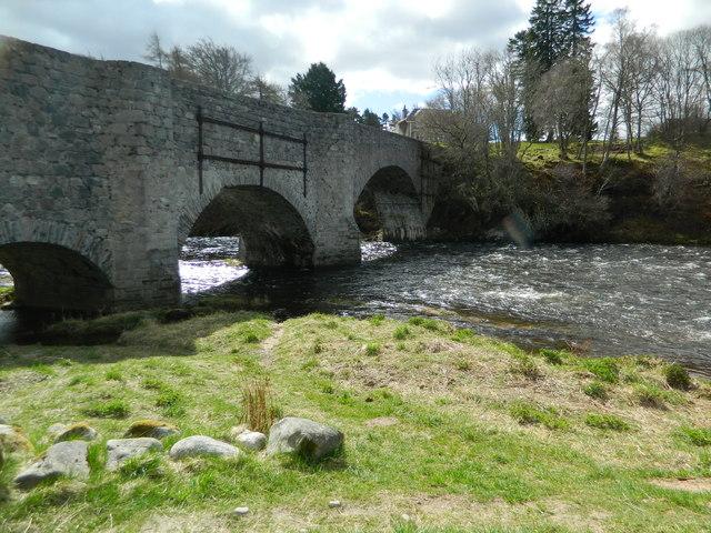Old Spey Bridge at Grantown