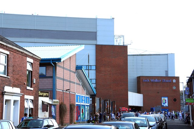 Looking down Nuttall Street to Ewood Park