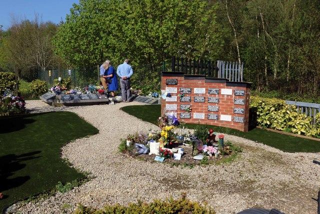 The Memorial Garden by Ewood Park