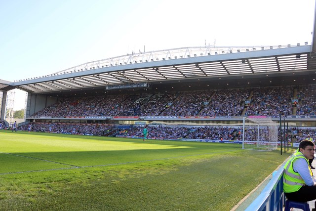 The Jack Walker Stand at Ewood Park