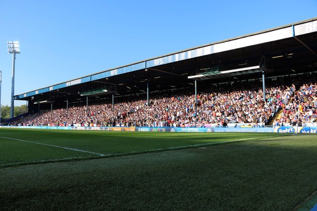 The Riverside Stand at Ewood Park
