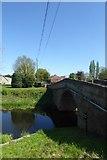 SE5726 : West Haddlesey Bridge by DS Pugh