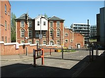 TG2407 : Converted industrial buildings in Paper Mill Yard by Evelyn Simak