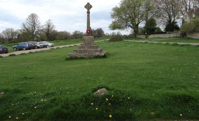 Grade II listed Amberley War Memorial