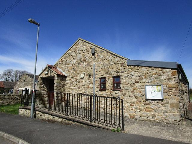 The Village Hall, Hutton Magna