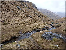 NG8801 : Ford through the Allt Gleann Unndalain by Richard Law