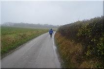 TR2255 : Lane to Bramling Gap by N Chadwick