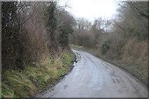 TR2254 : Rural Kent lane by N Chadwick